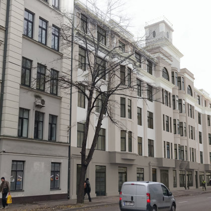 RECONSTRUCTION OF TWO APARTMENT HOUSES Riga, E.B.Upisa street / Project 2015-2018