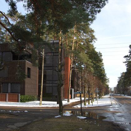 DAUDZDZĪVOKĻU DZĪVOJAMO MĀJU APBŪVE. Jūrmala, Muižas iela 11 / Skiču projekts. SP 2008/05