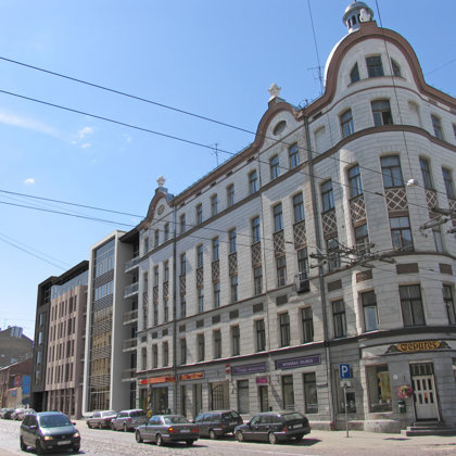 BIROJU UN DAUDZDZĪVOKĻU DZĪVOJAMĀ ĒKA Rīga, Kr. Barona ielā 89/91 / Tehn. projekts 2007.g.