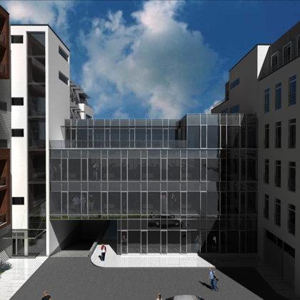 BIROJU UN DAUDZDZĪVOKĻU DZĪVOJAMĀ ĒKA Rīga, Pērnavas iela 13 / Tehniskas projekts 2008.g.