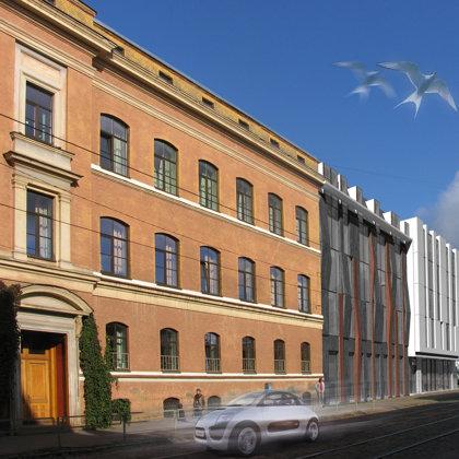 DAUDZDZĪVOKĻU DZĪVOJAMĀS ĒKAS APBŪVES PRIEKŠLIKUMS / Rīga, Kr. Barona iela 73 / 2008/03