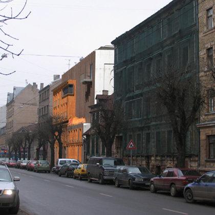 DAUDZDZĪVOKĻU DZĪVOJAMĀS ĒKAS APBŪVES PRIEKŠLIKUMS Rīga, Ģertrūdes ielā 85 / 2007/01