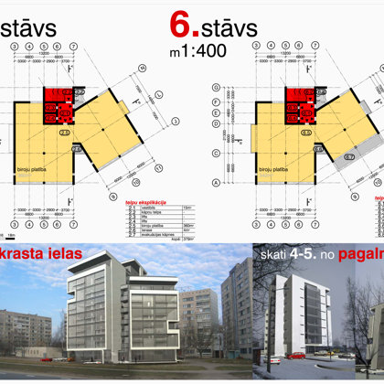 DAUDZDZĪVOKĻU DZĪVOJAMĀS ĒKAS APBŪVES PRIEKŠLIKUMS / Rīga, Krasta iela b/n / 2005/02