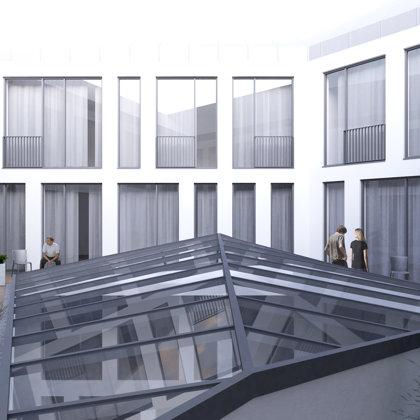 RECONSTRUCTION OF OFFICE BUILDING Riga, Marijas street / Project proposal 2017