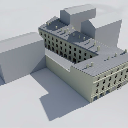 RECONSTRUCTION OF OFFICE BUILDING Riga, Dzirnavu street / Techical project 2016-2018