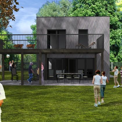 PRIVATE HOUSE RECONSTRUCTION Riga, M.Zolitudes street / Techical project 2015-2016