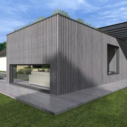 RECREATION HOUSE Ainavas street, Garkalnes region / Project proposal 2015