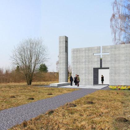 Chapel building. Tetele, Cenu region / Project proposal 2014