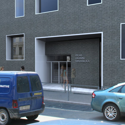 High school reconstruction. Rīga, Visvalža iela 4 / Project 2010-2011