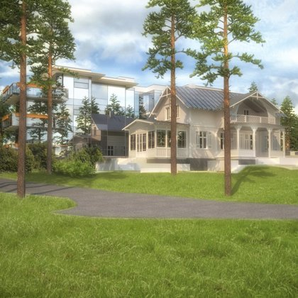 RECONSTRUCTION OF LIVING HOUSE. RECREATIONAL BUILDING / Jurmala, Cerinu street / 2012/10