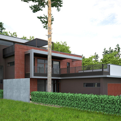 PRIVATE HOUSE. Jurmala, Dubultu prospekts 111 / 2012/01