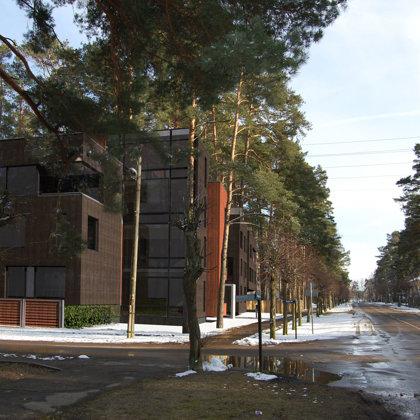 RESIDENTIAL BUILDING. Jurmala, Muizas street 11 / 2008/05