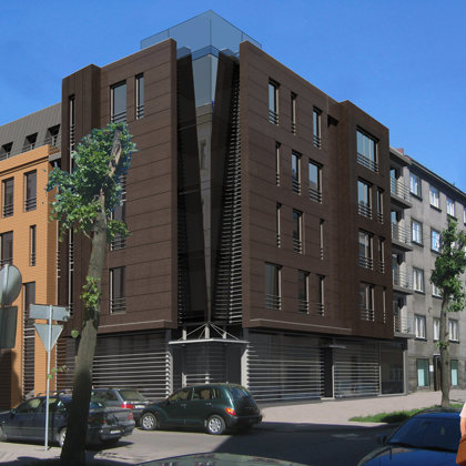 RESIDENTIAL ADN OFFICE BUILDING. Riga, Vidus street 5 / 2009