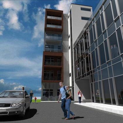 RESIDENTIAL ADN OFFICE BUILDING. Riga, Pernavas street 13 / 2007/12