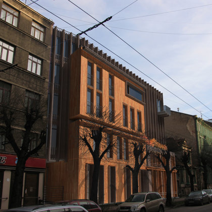 COMPETITION. RESIDENTIAL BUILDING / Riga, Gertrudes street 85 / 2007/01