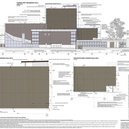 RENOVATION OF DAILES THEATRE BUILDING / Riga, Brivibas street 75 / Under construction 2020