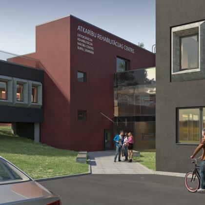 RECONSTRUCTION OF HEALTH BUILDING / Riga, Vecmilgravja 5.linija 26 / Project 2018-2019