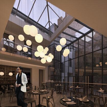 RECONSTRUCTION OF THE HOTEL BUILDING / Riga, Dzirnavu street 59 / Project 2019 - 2020