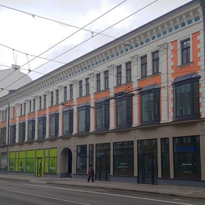 BIROJU ĒKAS PĀRBŪVE / Rīga, Marijas iela 13 K-1 / Pojekts 2017-2019 / Būvniecība 2019-2021